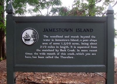 Jamestown Island Marker image. Click for full size.