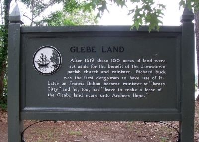 Glebe Land Marker Photo, Click for full size