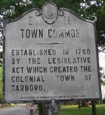Town Common Marker image. Click for full size.