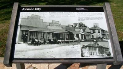 Johnson City Marker image. Click for full size.