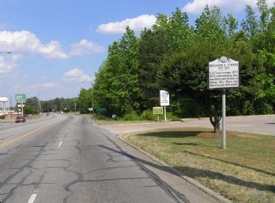 Wide view of the Benjamin S. Turner Marker image. Click for full size.