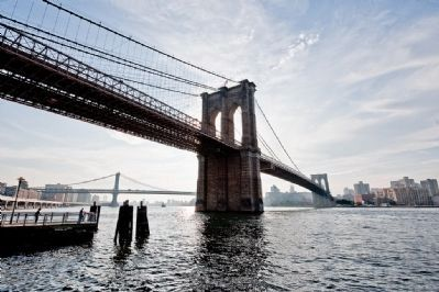 View of the Brooklyn Bridge Photo, Click for full size