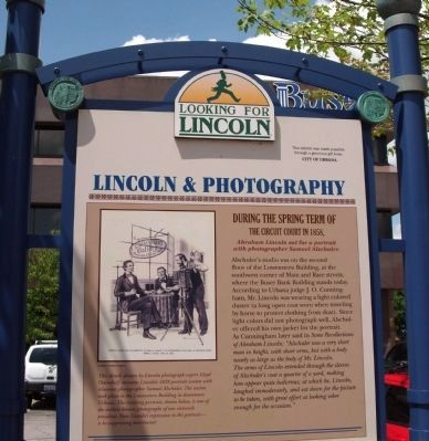 Top Section - - Lincoln & Photography Marker image. Click for full size.