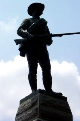 Cumberland County Confederate Memorial Statue image. Click for full size.