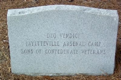 Cumberland County Confederate Memorial Sponsor Photo, Click for full size