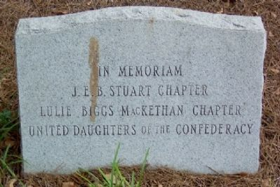 Cumberland County Confederate Memorial Sponsor image. Click for full size.