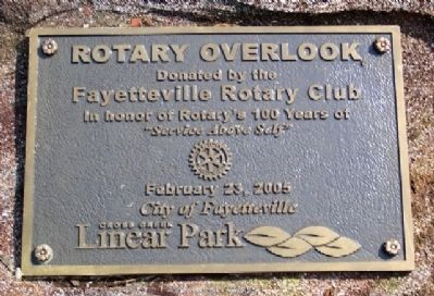 Rotary Overlook Marker image. Click for full size.