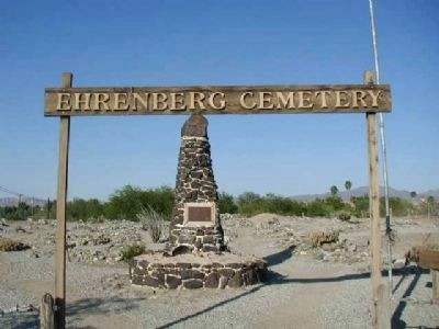 Entrance to the Ehrenberg Cemetery and Monument image. Click for full size.
