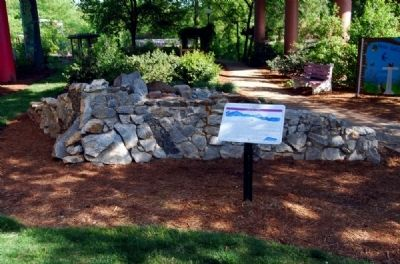 The Geologic History of Greenville Marker Photo, Click for full size