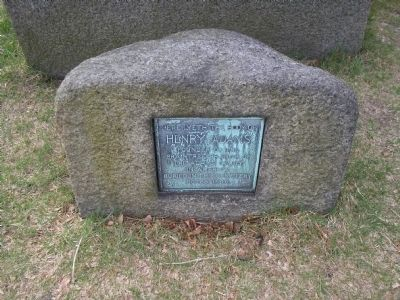 Grave of Henry Adams image. Click for full size.