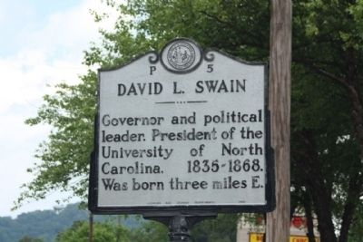 David L. Swain Marker image. Click for full size.