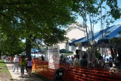 Saint Sophia's semi-annual Greek Festival in progress image. Click for full size.