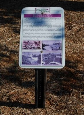 History of the Reedy River Marker image. Click for full size.
