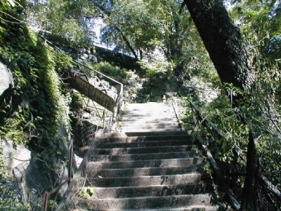 The John T. Brush Stairway Photo, Click for full size