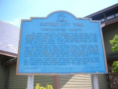Westchester County Marker image. Click for full size.
