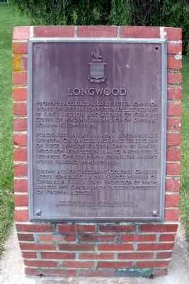 Longwood Marker Photo, Click for full size