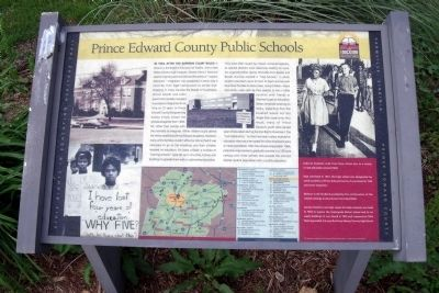 Prince Edward County Public Schools CRIEHT Marker image. Click for full size.