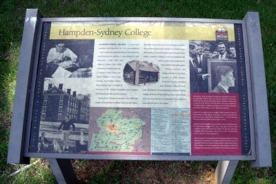 Hampden-Sydney College CRIEHT Marker image. Click for full size.