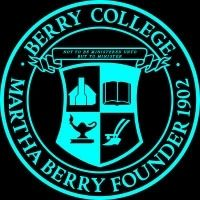 Berry College Seal showing the Original Cabin image. Click for full size.