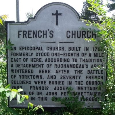 French's Church Marker Photo, Click for full size