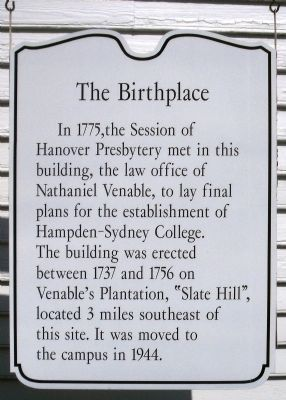 The Birthplace Marker image. Click for full size.