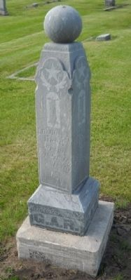 Chapman Cemetery GAR Marker Marker image. Click for full size.