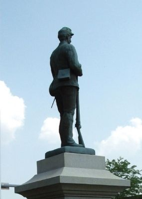 Obverse View - - Top Statue image. Click for full size.