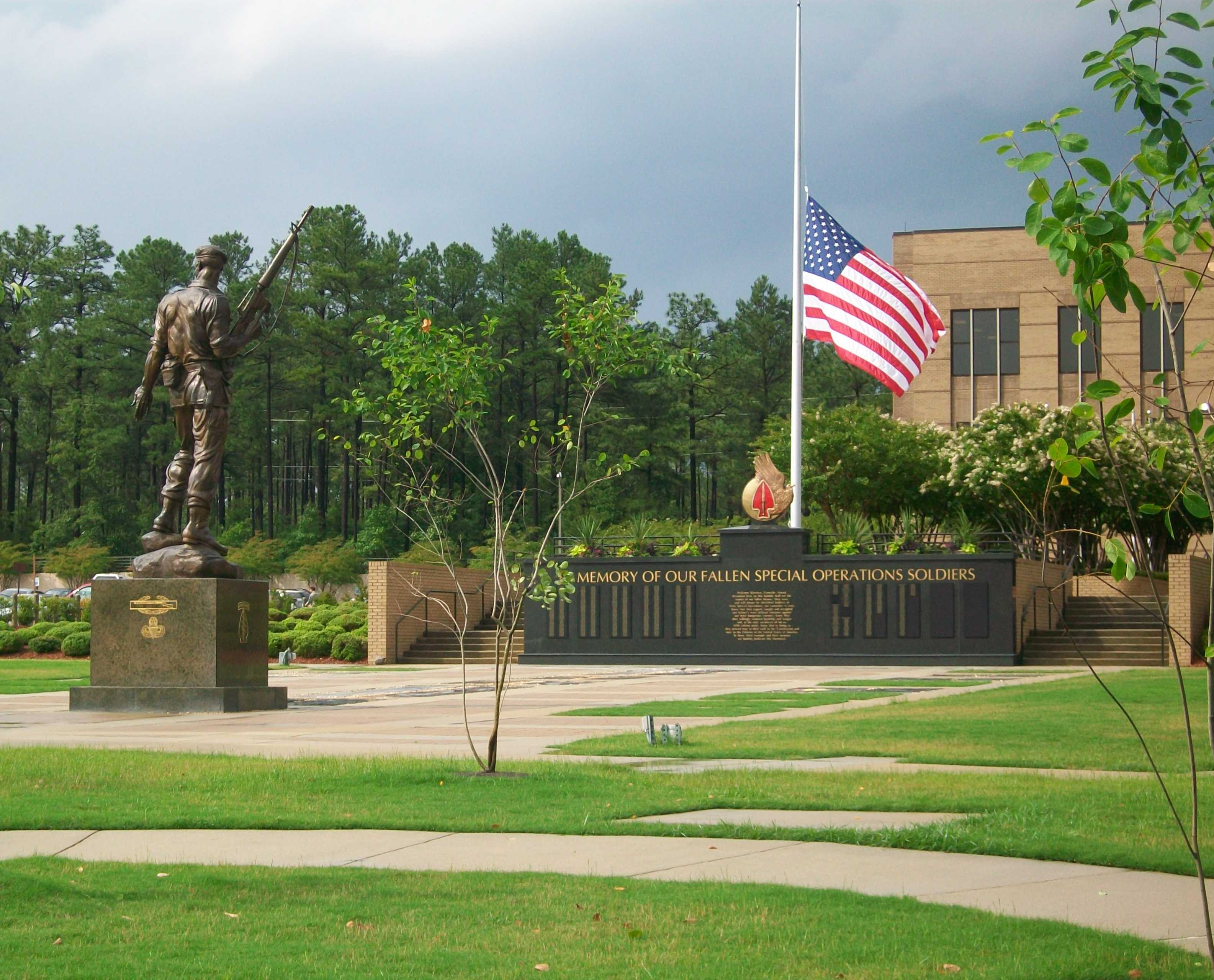 USASOC Memorial Wall & Plaza