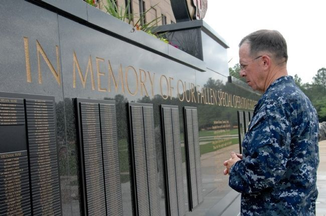 USASOC Memorial Wall Marker image. Click for full size.
