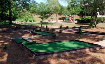 McPherson Park Mini-Golf Course image. Click for full size.