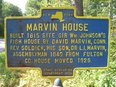 Marvin House Marker image. Click for full size.