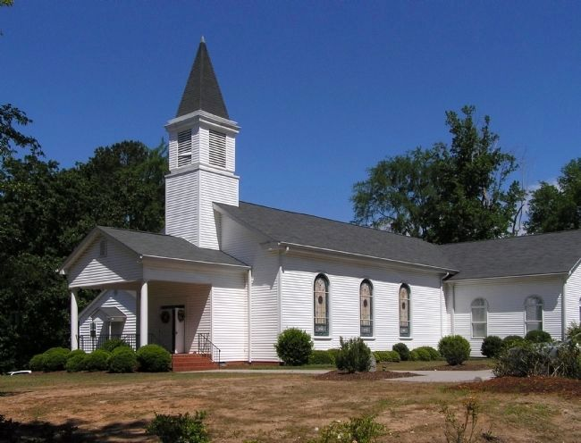 Cartledge Creek Baptist Church (1826) image. Click for full size.