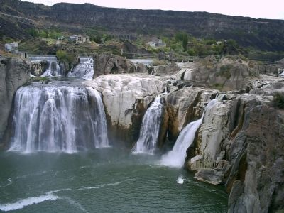 Shoshone Falls in Early Summer image. Click for full size.