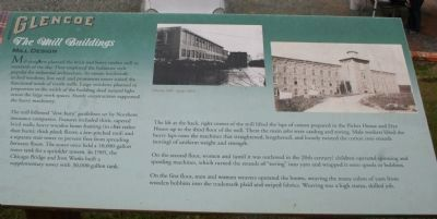 Glencoe - The Mill Buildings Marker image. Click for full size.