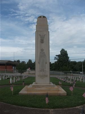 Veterans Memorial Marker (west side) image. Click for full size.