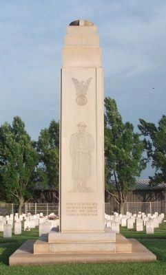 Veterans Memorial Marker (north side) image. Click for full size.