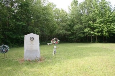 Battle of the Neches clearing and Marker Photo, Click for full size