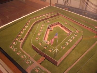 Model of Fort Macon image. Click for full size.