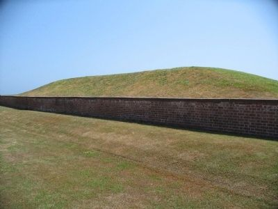 Mortar Battery Mound image. Click for full size.