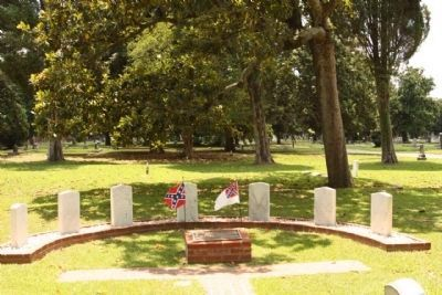 Magnolia Cemetery 7 Generals Tribute image. Click for full size.