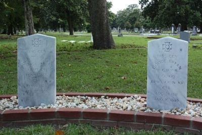 Magnolia Cemetery 7 Generals Tribute right image. Click for full size.