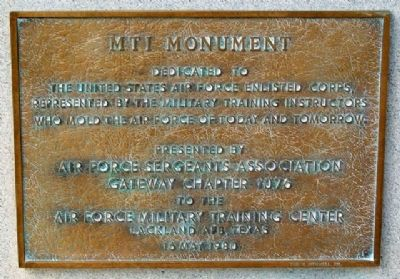 MTI Monument Marker image. Click for full size.