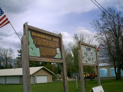 Diamondfield Jack Marker in Albion, Idaho Photo, Click for full size