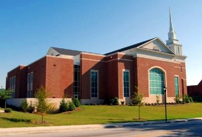 Simpsonville Baptist Church -<br>Current Building image. Click for full size.