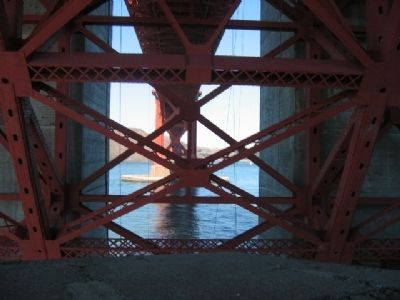 Under The Golden Gate Bridge Photo, Click for full size