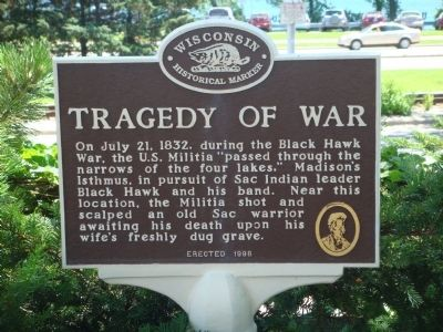 Tragedy of War Marker image. Click for full size.