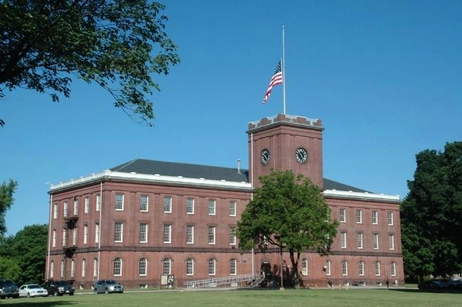 The Springfield Armory Main Arsenal Building image. Click for full size.