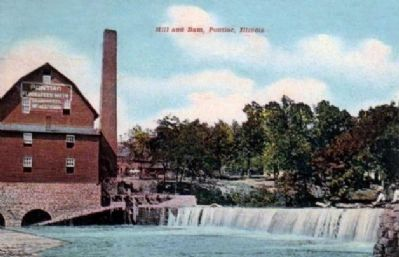 """Mill & Dam"" image. Click for full size."