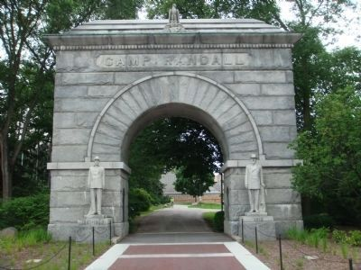 Camp Randall Memorial Arch image. Click for full size.