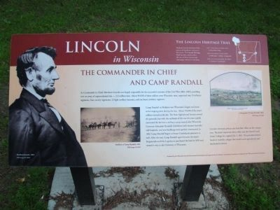 Related Marker near Camp Randall Marker image. Click for full size.
